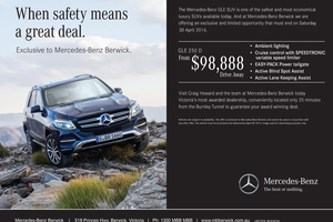 Exclusive offer from Mercedes-Benz Berwick