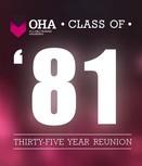 Class of 1981 - 35 Year Reunion