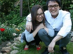 Samantha Quek and Ernest Tan