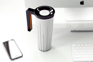 What happens when an RMIT Researcher combines his thermoelectric with a smart phone and keep cup? Muggino.