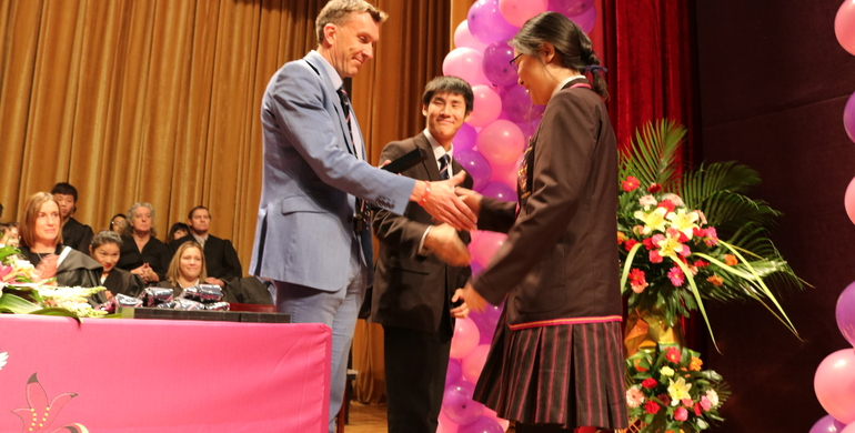 First students graduate from Haileybury International School Tianjin (HIST)