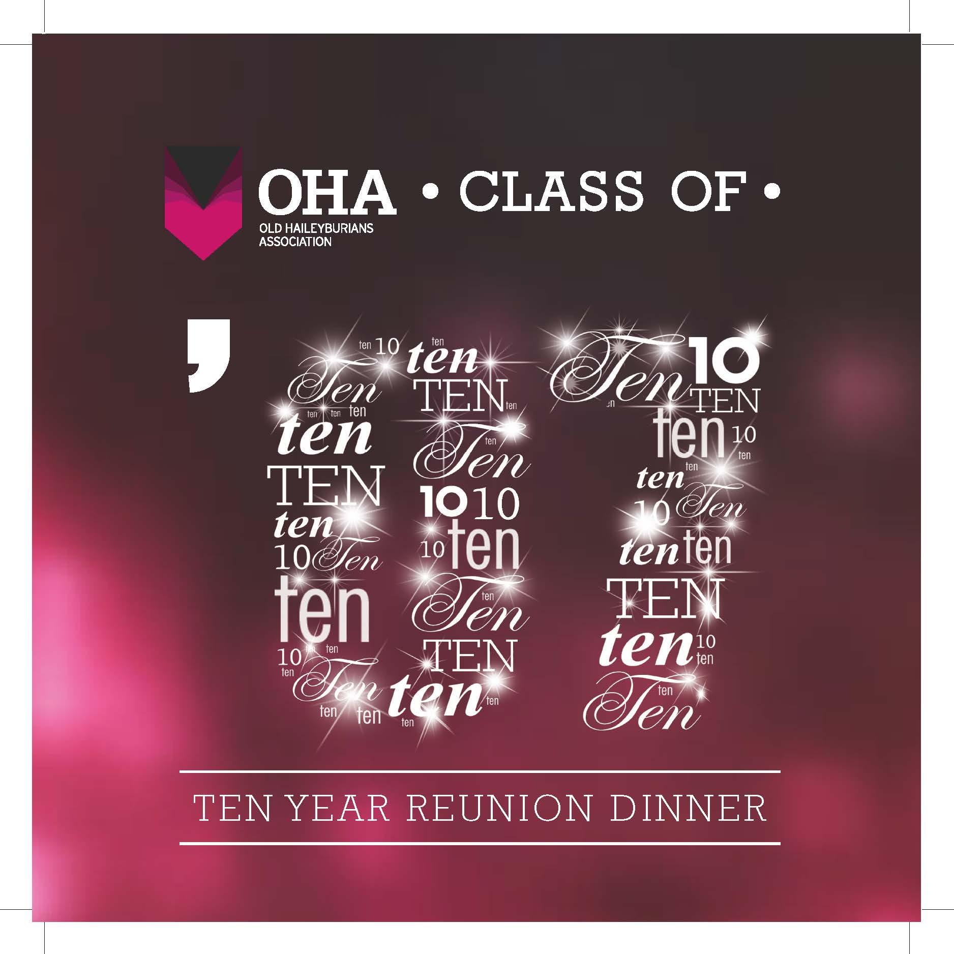 Class of 2007 - 10 Year Reunion