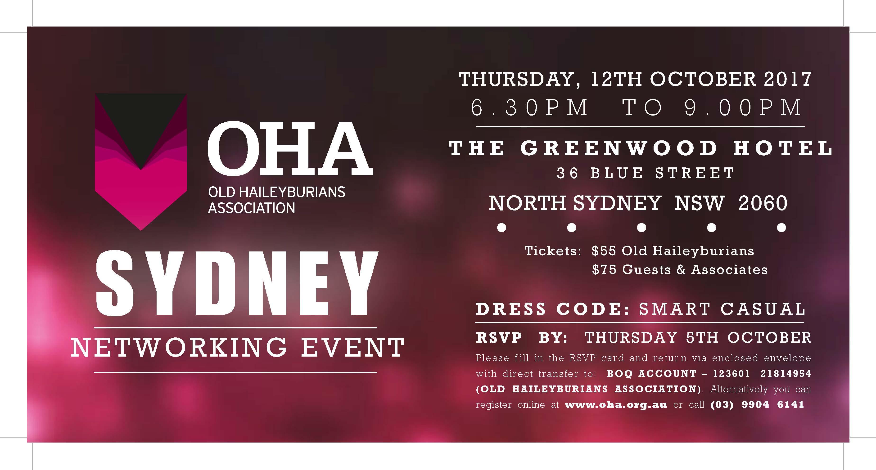 OHA Sydney Networking Event