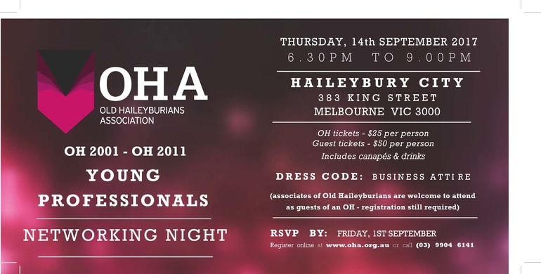 OHA Young Professionals Networking Event