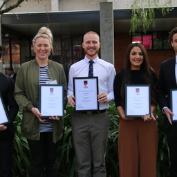 Young alumni winners announced.