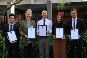 Young alumni winners announced.