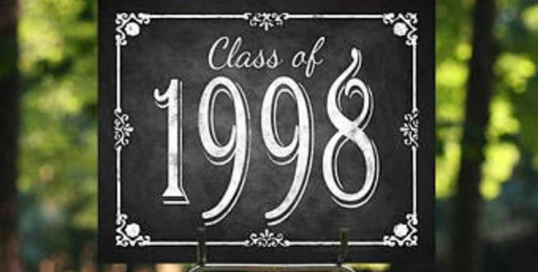Class of 1998 - 20 Year Reunion (Tickets available early May)