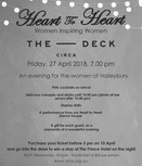 Heart to Heart 2018 - Women Inspiring Women