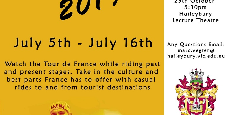 2019 Tour de France - Join us on the OHA Tour!