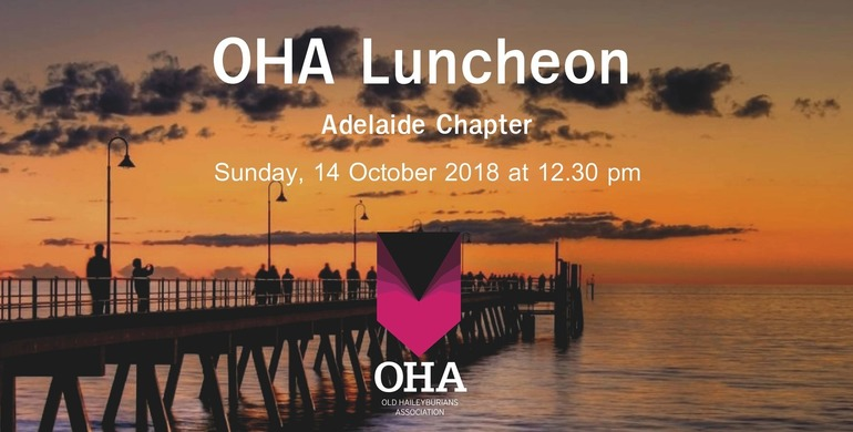 OHA Adelaide Chapter Luncheon
