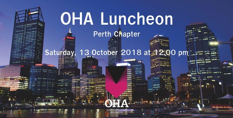 OHA Perth Chapter Luncheon
