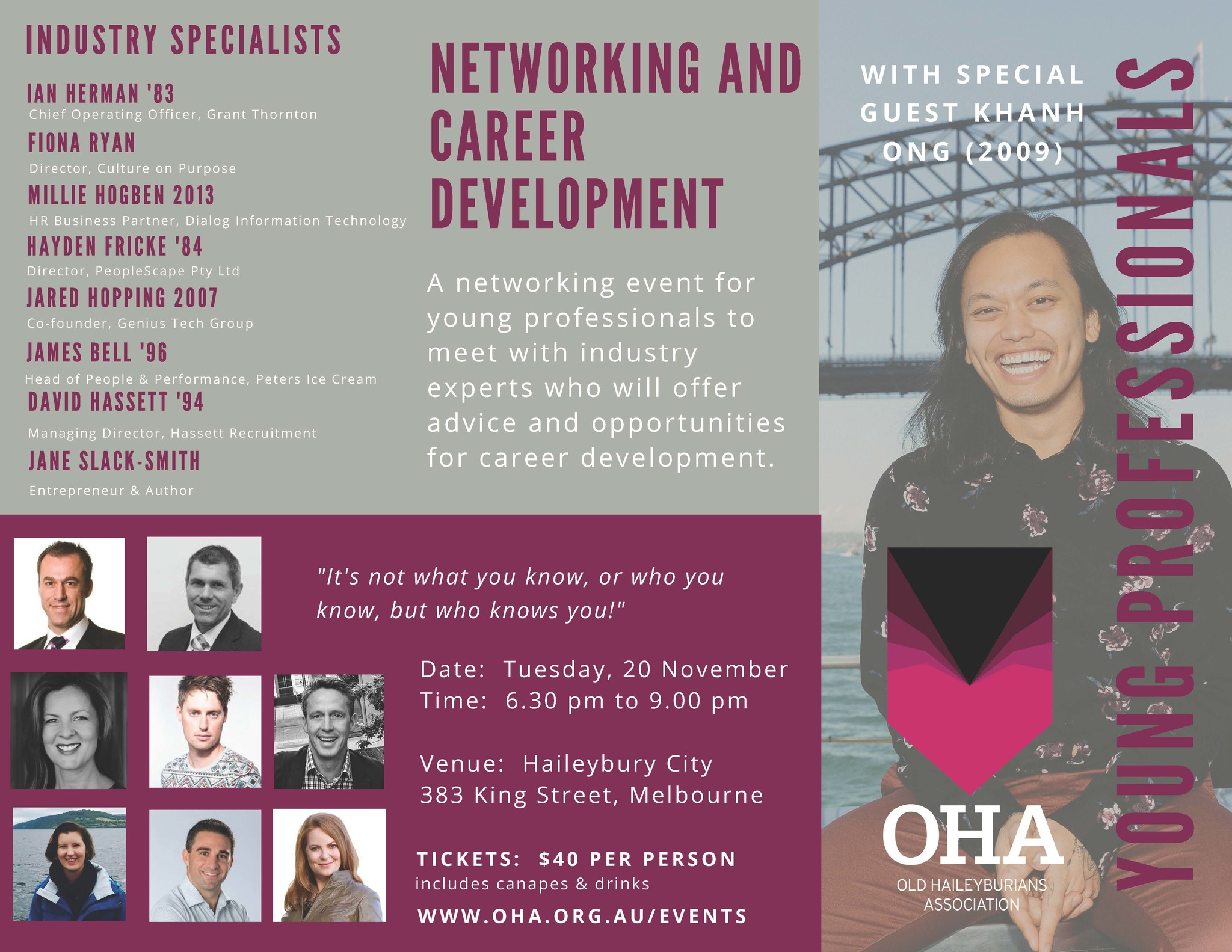 Young Professionals Networking Event 2018