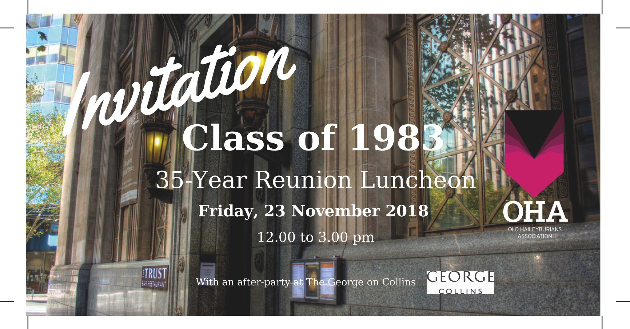 Class of 1983 - 35 Year Reunion
