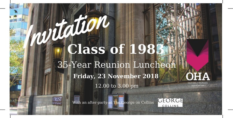Class of 1983 - 35 Year Reunion