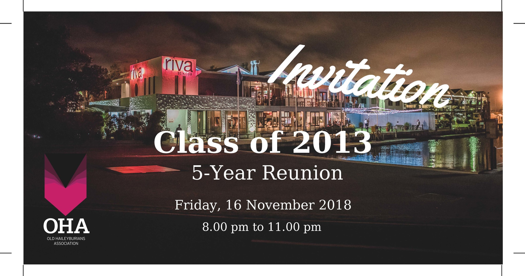 Class of 2013 - 5 Year Reunion