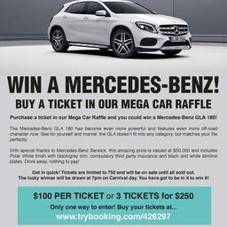 Win a Mercedes Benz!