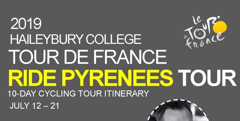 The 2019 OHA Tour de France itinerary has now been finalised.