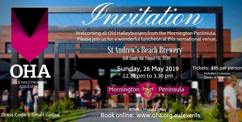 Mornington Peninsula Luncheon - 2019