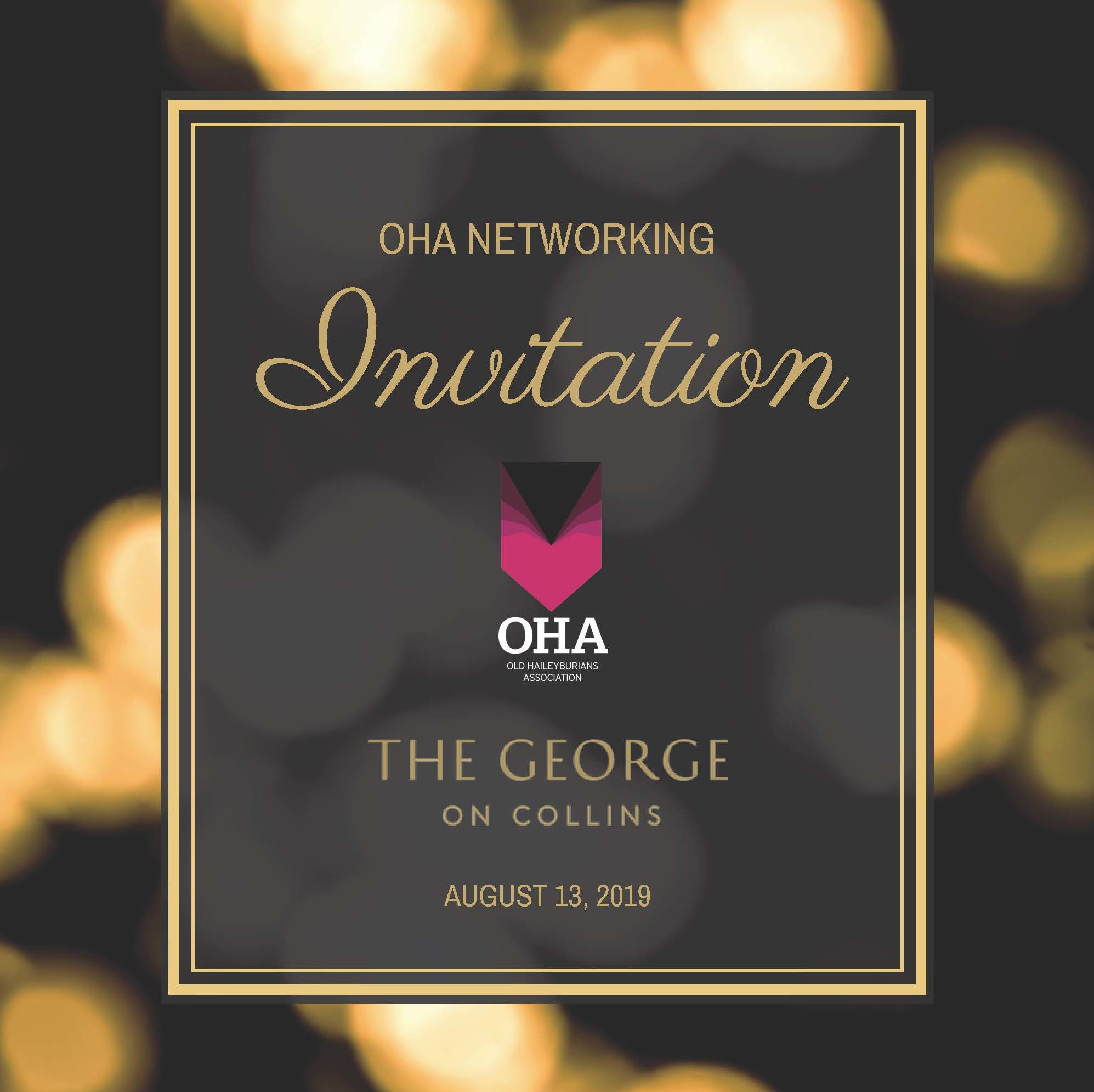 OHA Networking 2019