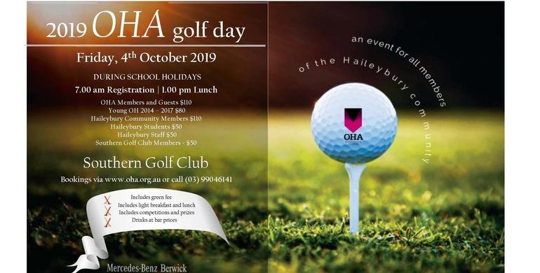 OHA Golf Day 2019
