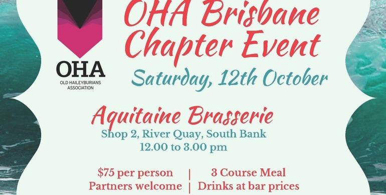 OHA Brisbane Luncheon 2019