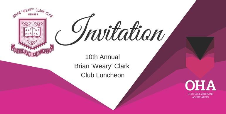 10th Annual Brian 'Weary' Clark Club Luncheon