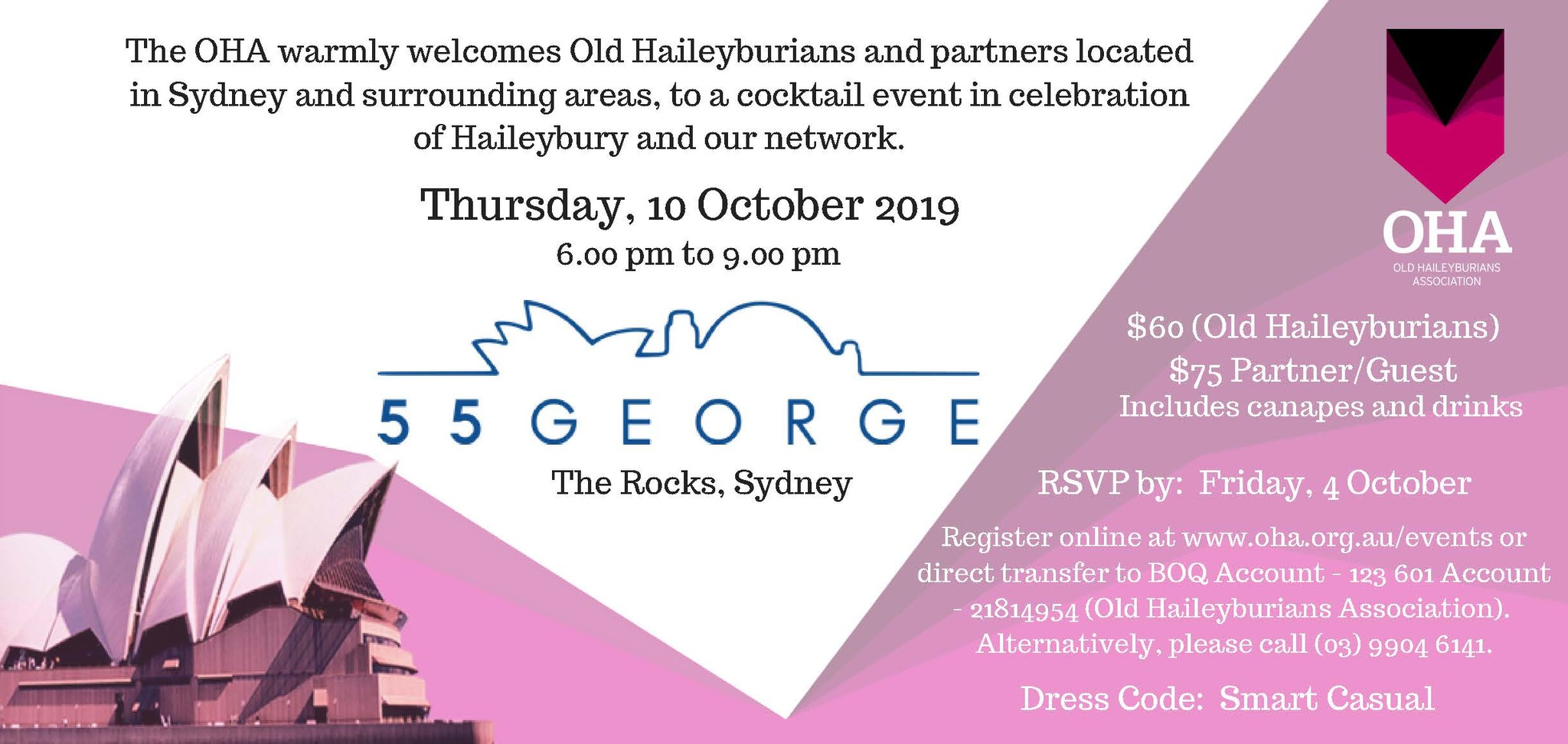 OHA Sydney Chapter Event 2019