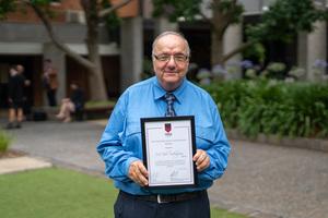 Mr Bob Sedergreen (OH '60) named 2019 OHA Medallist