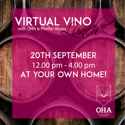 Virtual Vino Lunch with OHA & Pfeiffer Wines